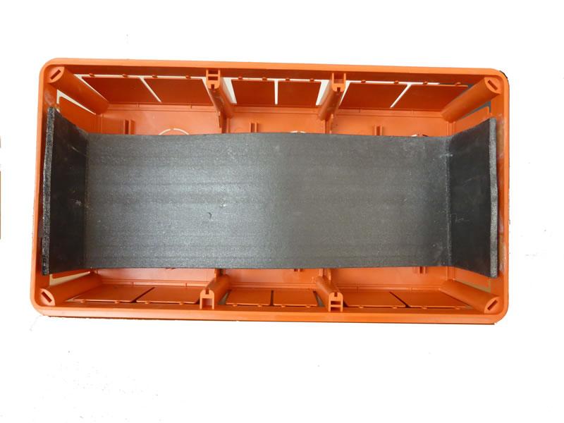 Protezione antincendio scatole elettriche