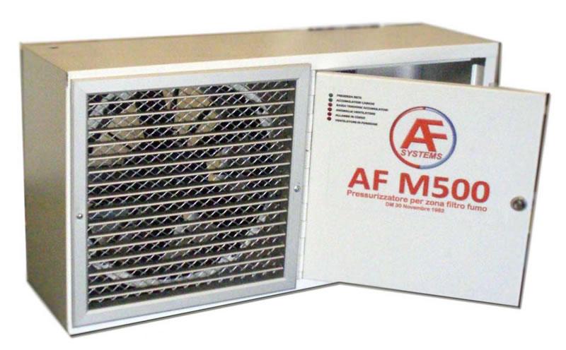 Sistemi pressurizzazione filtri fumo