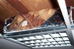 Protezione punto luce installata