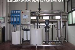 Osmosi 6.000 litri-h